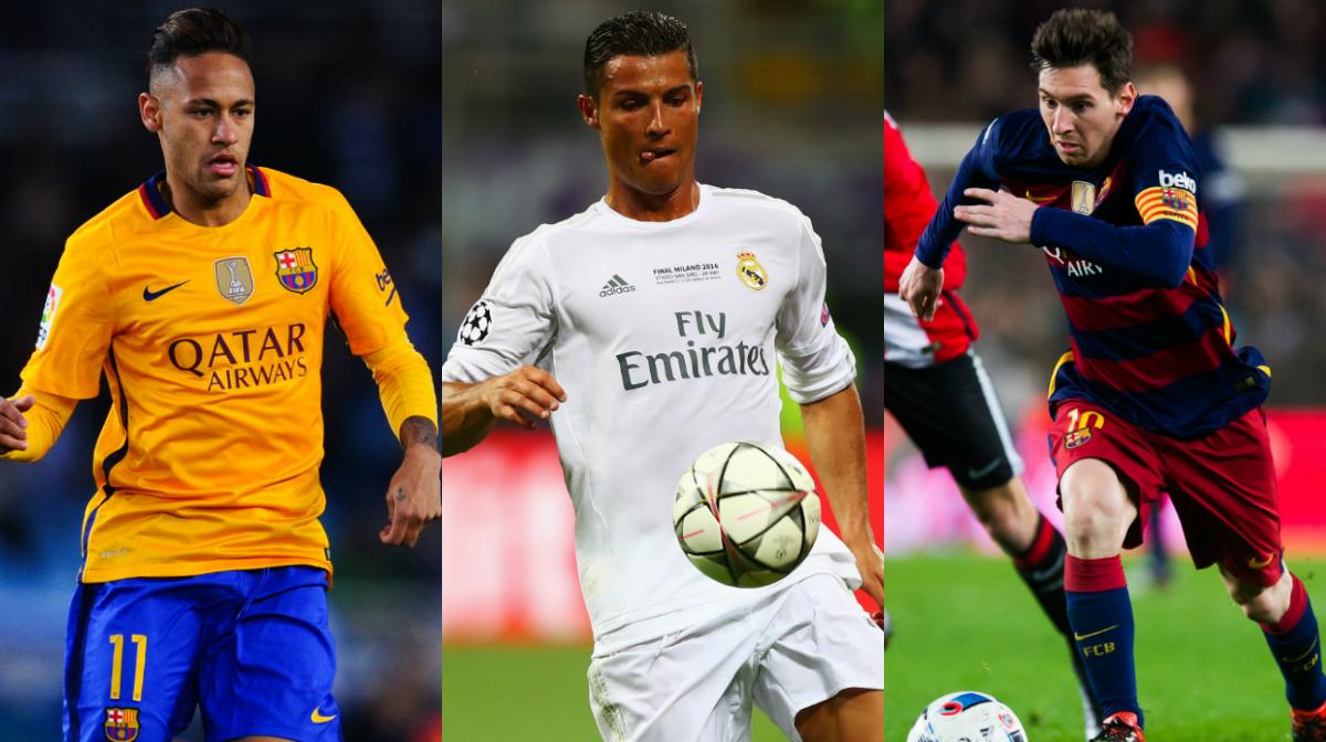 Neymar Ronaldo Messi - Goal.com