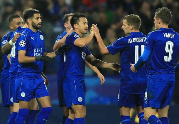 Leicester 2-1 Brugge: Okazaki and Mahrez fire Foxes through