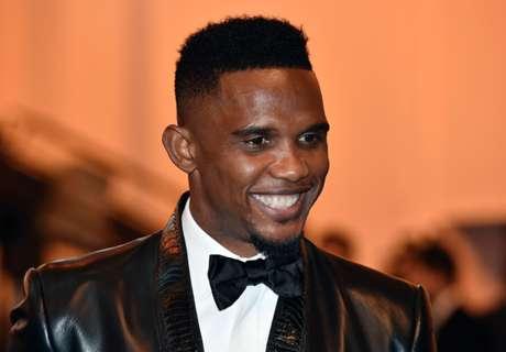 Eto'o Ukir Rekor Pemain Terbaik Afrika