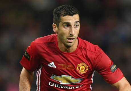 RUMOURS: Mkhitaryan to fight for place
