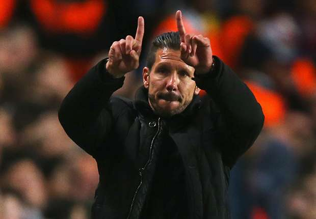 Simeone 'happy' with Costa interest