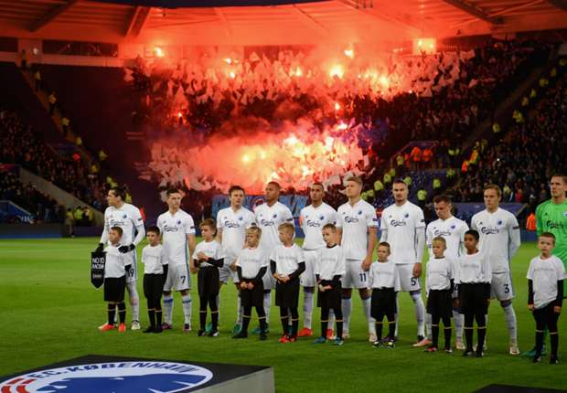 Copenhagen charged by UEFA over spectacular firework display