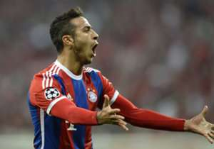 Thiago (1-0 '14) | Bayern Munich 6-1 Porto (7-4) | Champions League | Allianz Arena