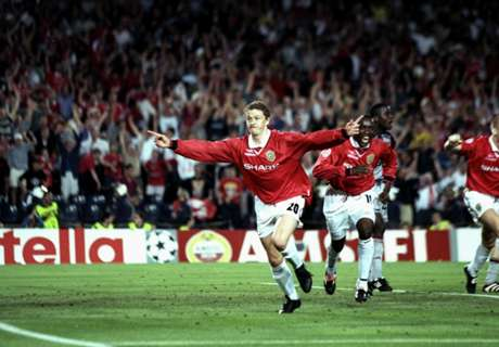 20 years of Man Utd hero Solskjaer