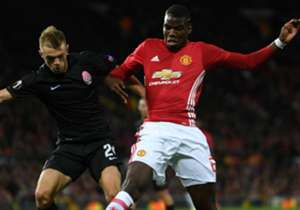 Paul Pogba Manchester United Zorya Europa League