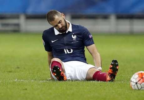 Benzema suffers hamstring injury