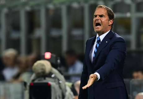 De Boer: Inter lost heads after conceding