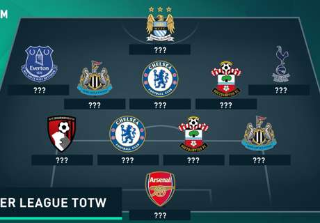 Cech & Aguero in PL Team of the Week