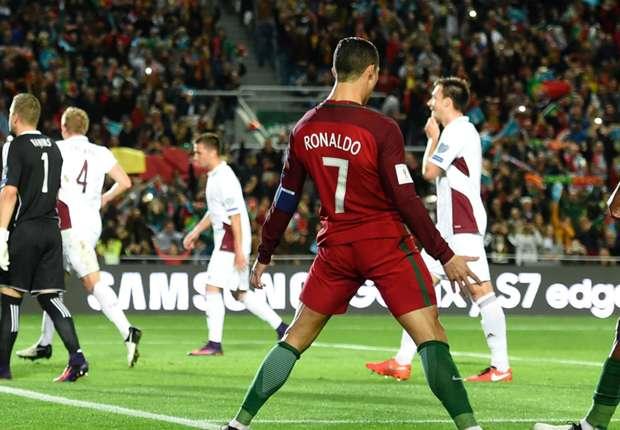 Resultado de imagem para Portugal 4 – 1 Letónia