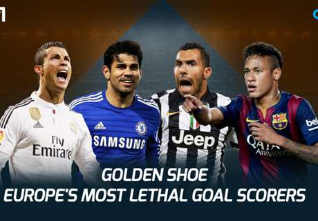 Europe's most lethal scorers of 2014-15