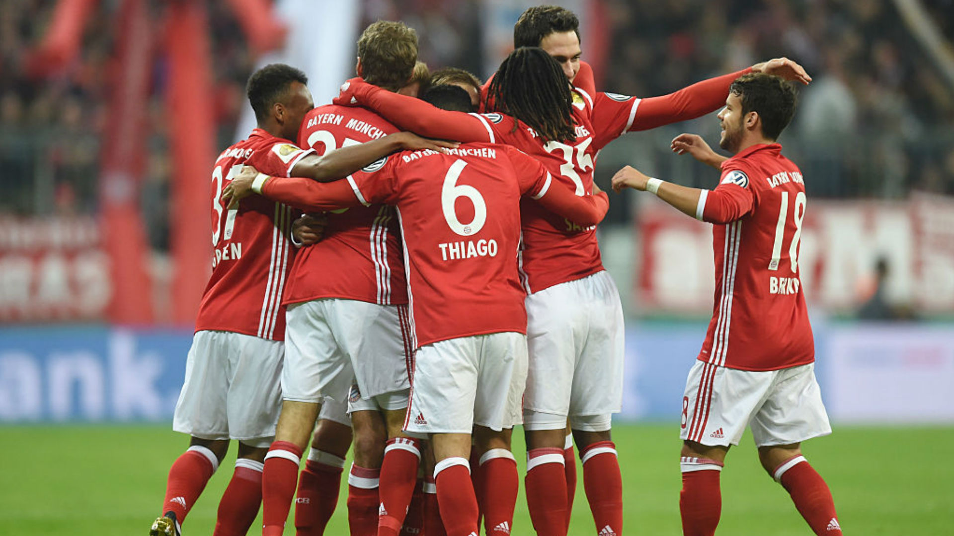 Bayern Munich 3-1 Augsburg: Ancelotti's side progress to third round of DFB-Pokal