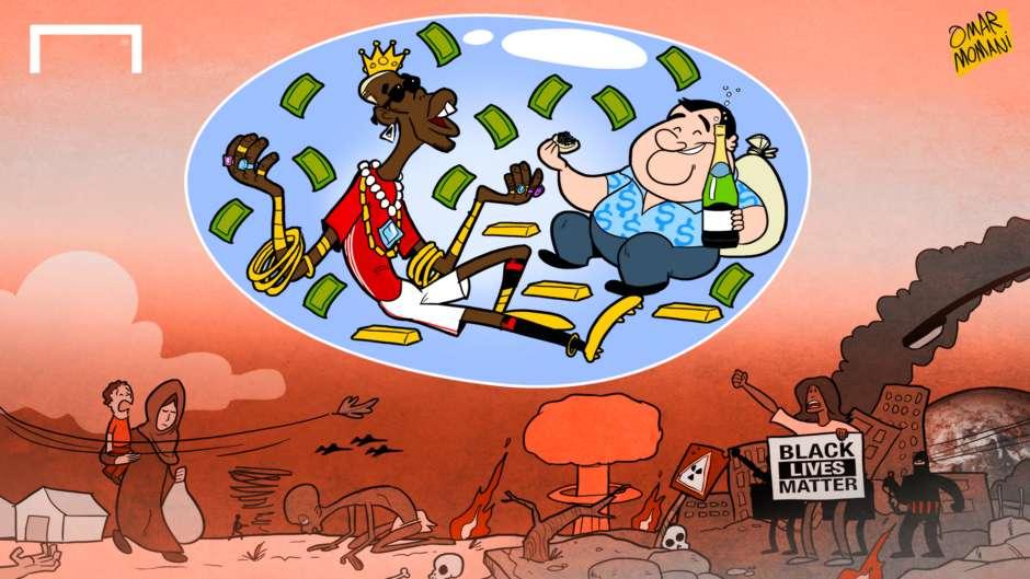 CARTOON: Pogba's bubble