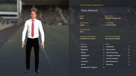 custom manager goal com
