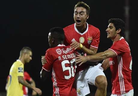 Benfica gana y es nuevo líder