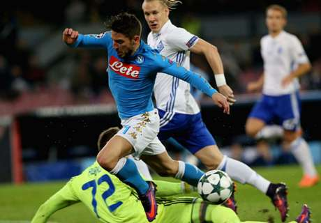 Napoli stutter to frustrating draw