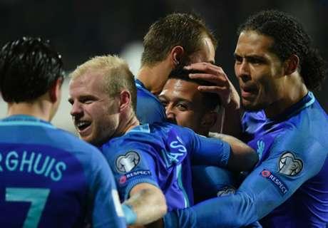 Rusia 2018: Luxemburgo 1-3 Holanda