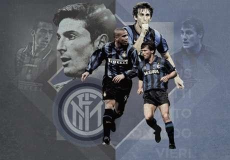 Galeria: os 20 maiores da Inter