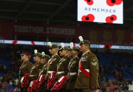 FIFA investigates fans' poppies