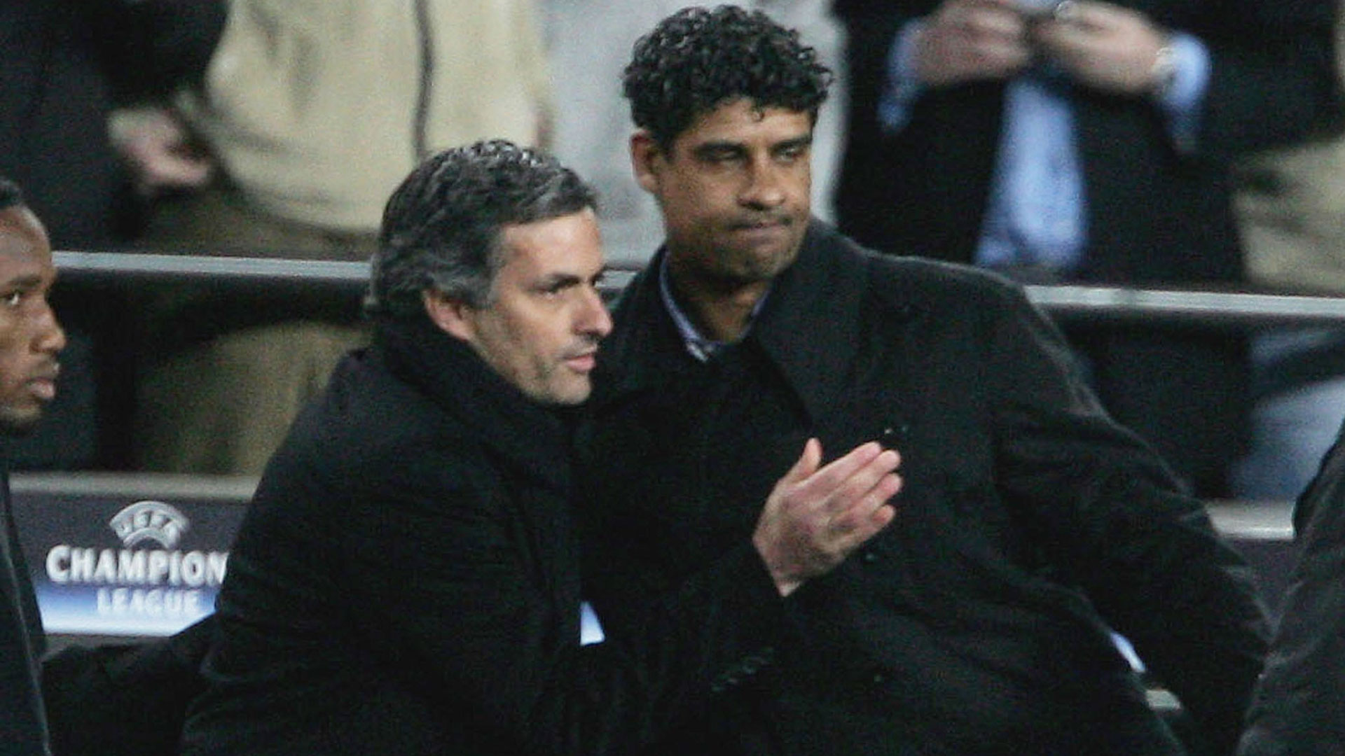 Jose Mourinho Frank Rijkaard Chelsea Barcelona Goal