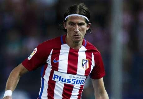 Filipe Luis, lesionado
