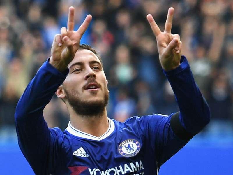 WATCH: Chelsea Stars Costa, Hazard Dedicate Goals To