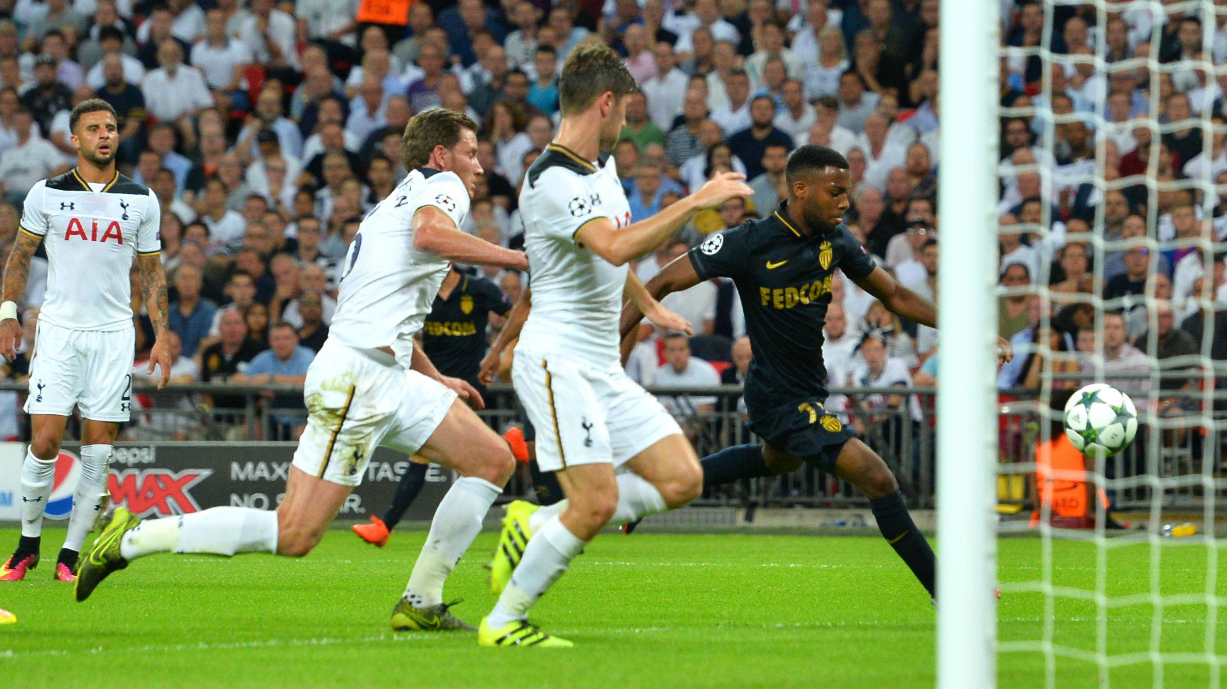 Thomas Lemar Tottenham Monaco Champions League 14092016