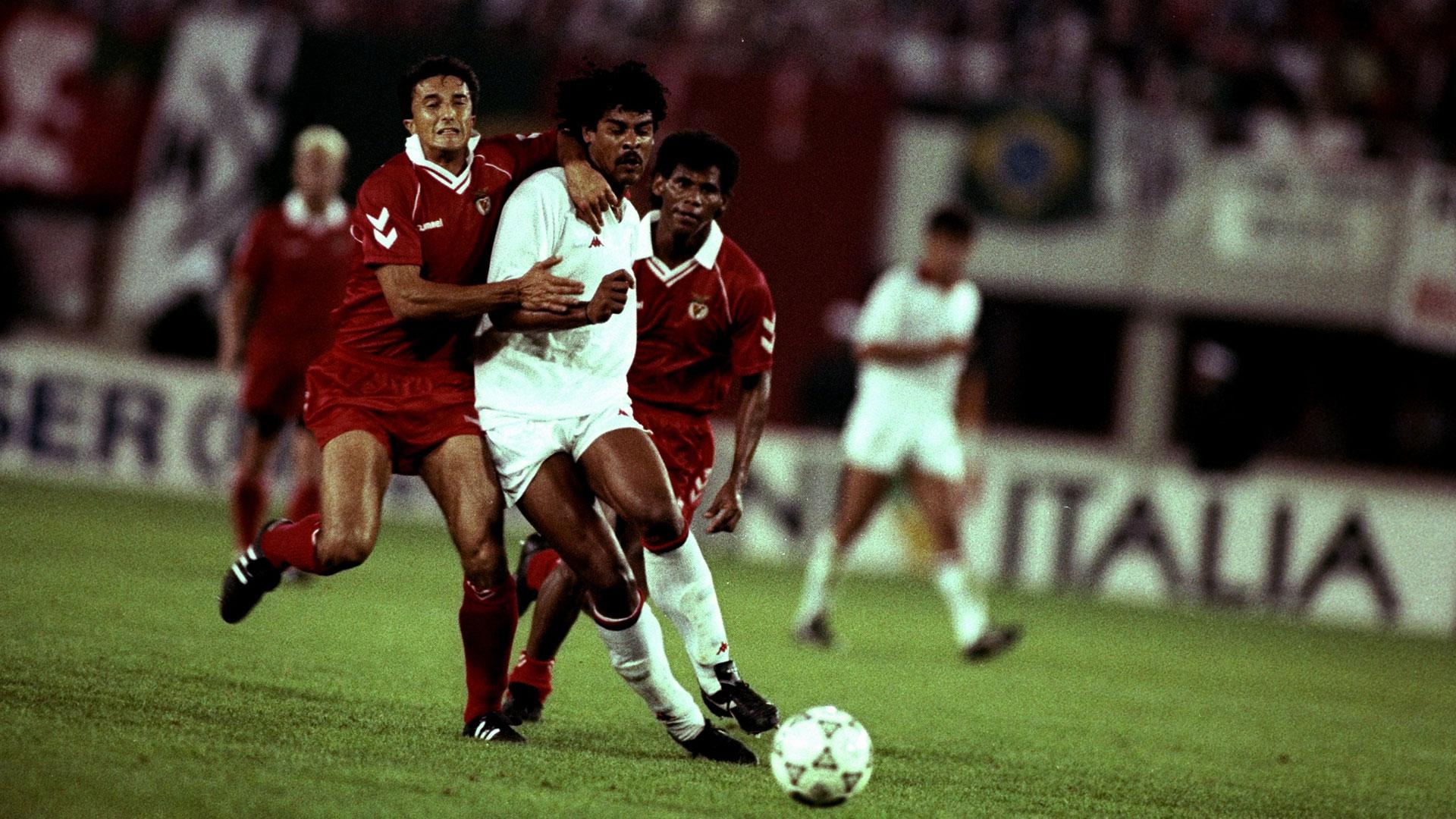 Frank Rijkaard AC Milan Goal