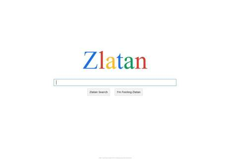 Ibrahimovic gets his own search engine