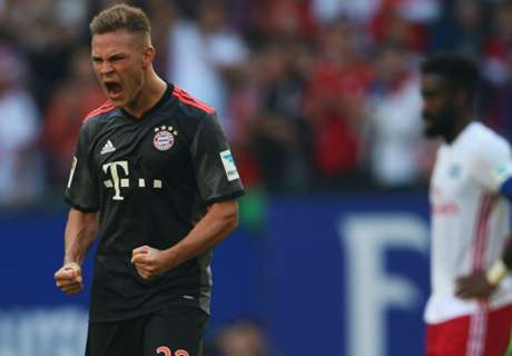 Bayern leave it late against Hamburg