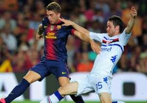 GERARD DEULOFEU | Debut con el Barcelona: 29 de octubre de 2011 | Club actual: AC Milan