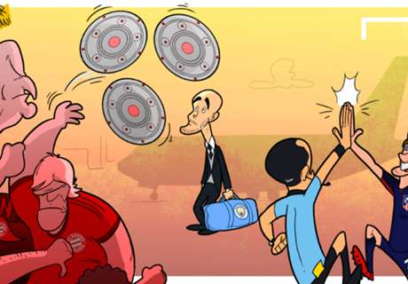 Vignetta - Tifosi Bayern, che 'saluti' a Pep