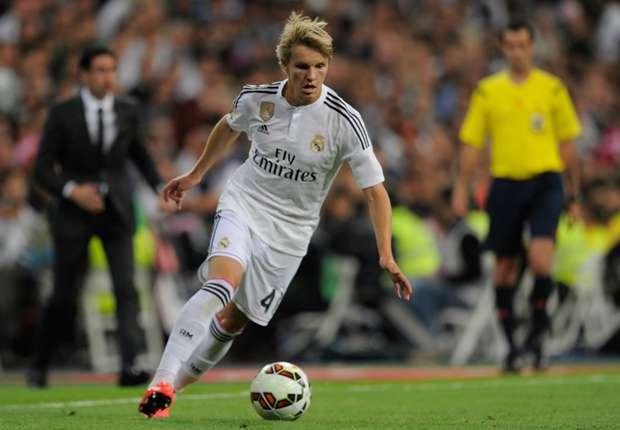 Martin Odegaard Real Madrid Getafe 23052015