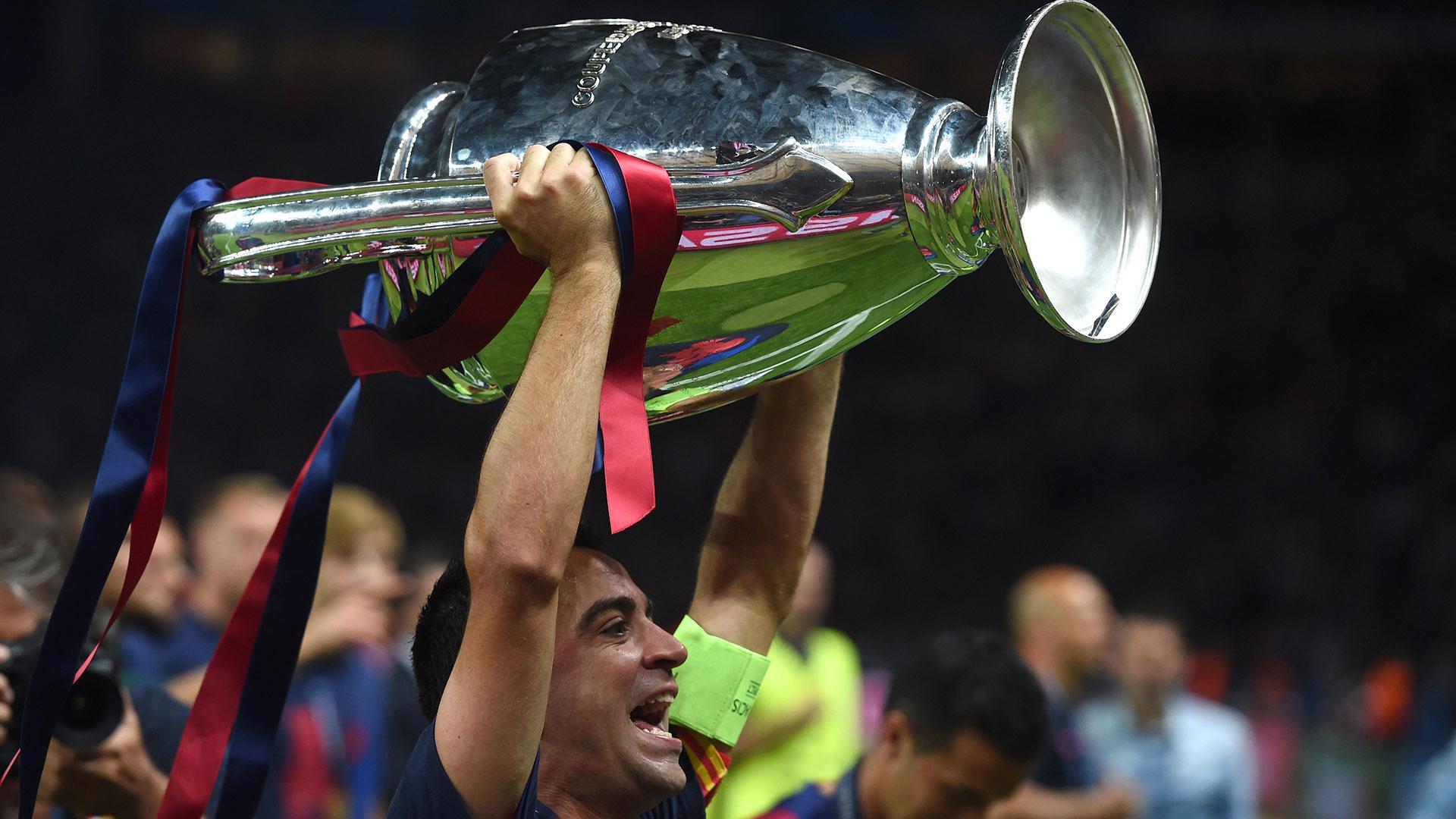 Xavi Barcelona Champions League