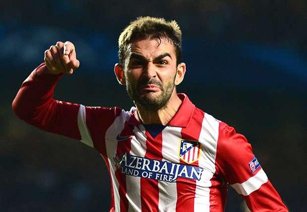 Adrian speelde sinds 2011 bij Atlético Madrid