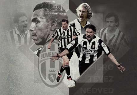 Top-20-Spieler von Juventus