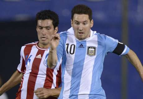 Niente Argentina-Brasile per Messi