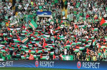 Celtic fined by UEFA over Palestine flags