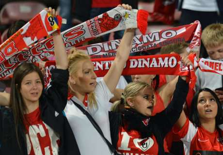 Dinamo beat... Dinamo in cup clash