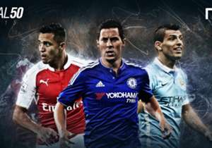 The 2015 Goal 50 has finally arrived! Over the following four days, we will be revealing on a league-by-league basis who has been selected in our 50-man list of the world's best players from the past 12 months. We begin with the English Premier League,...