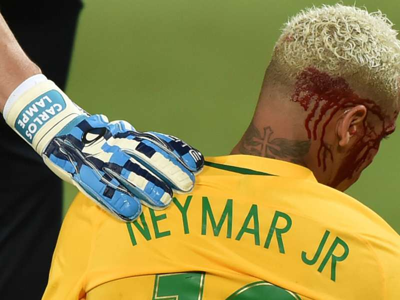 'Neymar needs to stop being Charlie Big B*******'- Bolivia defender refuses to apologise for elbow