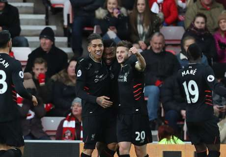 Premier League: Sunderland 2-2 Liverpool