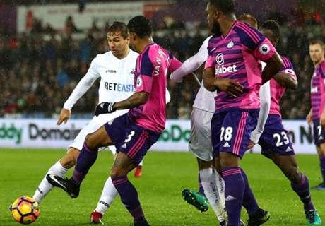 REVIEW: Dua Gol Fernando Llorente Bawa Swansea City Taklukkan Sunderland