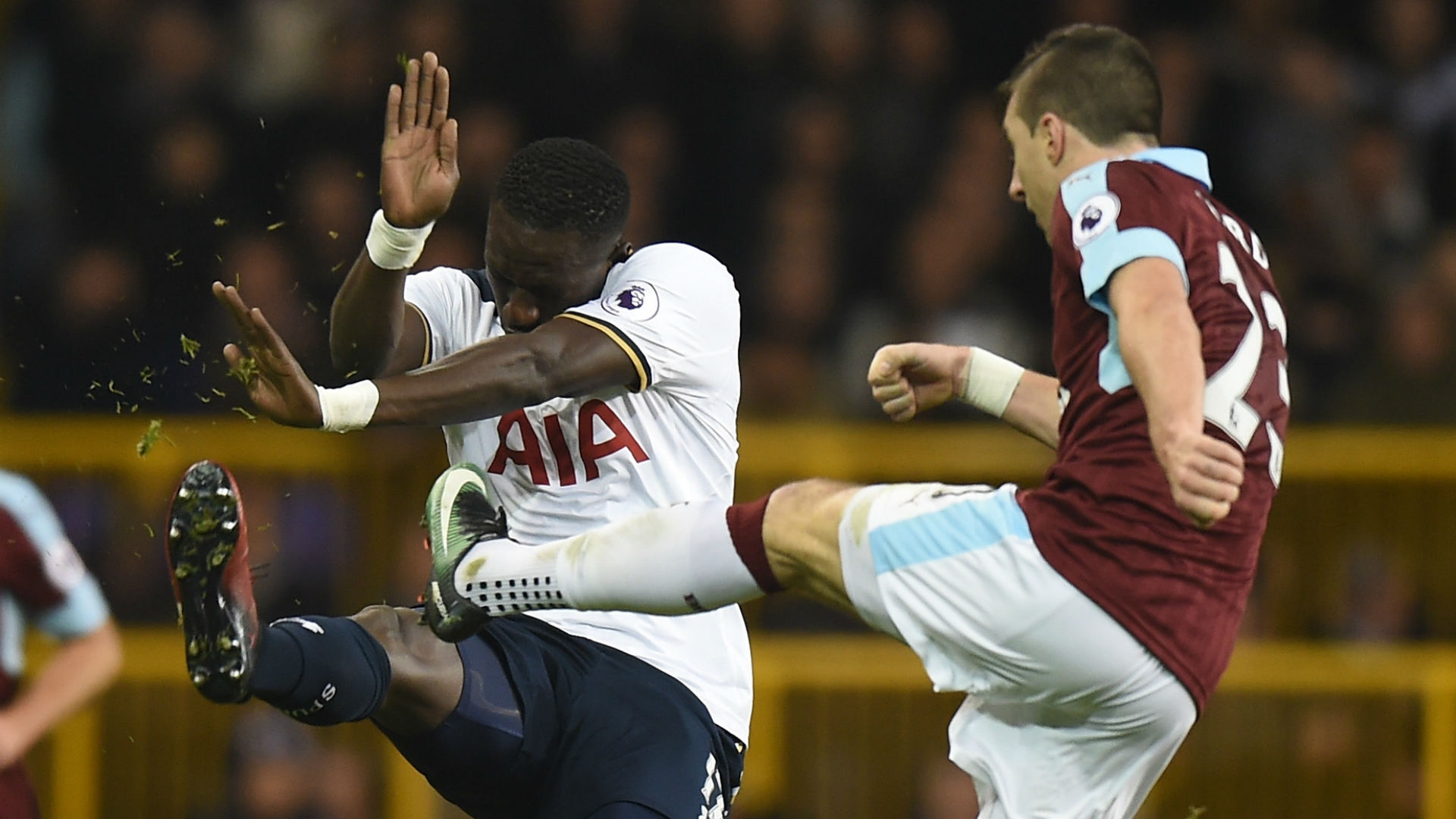 Spurs come from behind to beat Burnley