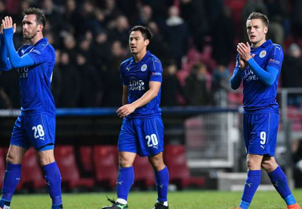 Leicester break Champions League defensive record