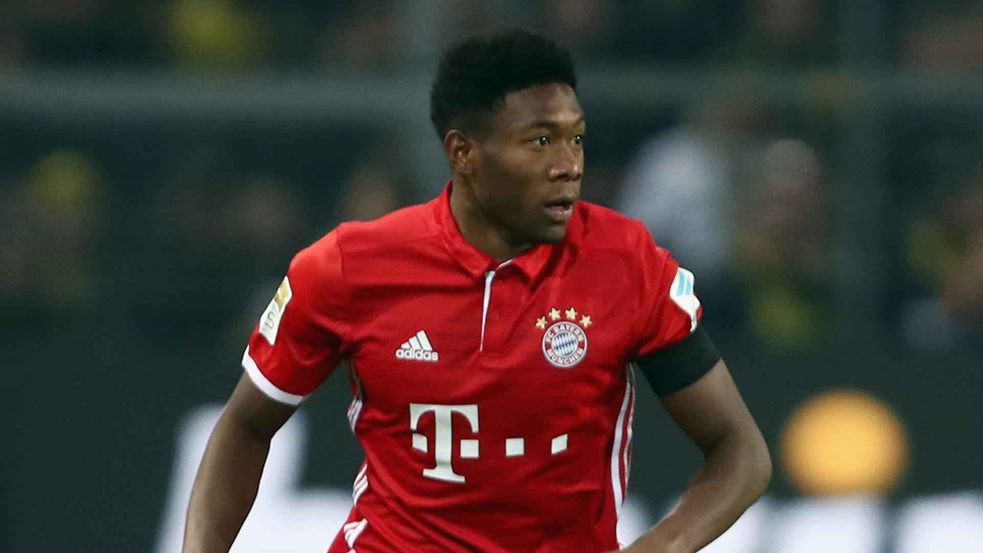 David Alaba Bayern Munich Goal