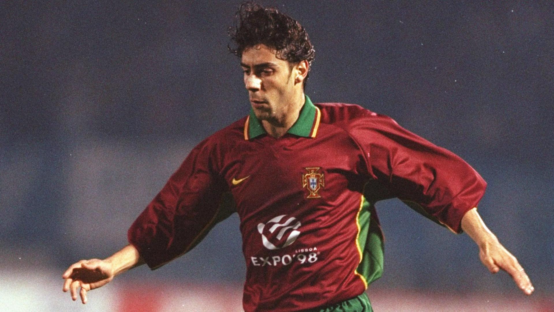 Rui Costa Portugal 1997 Goal
