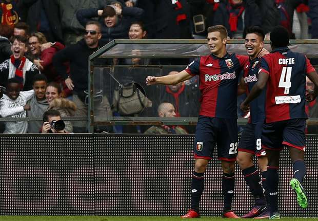 Like father, like son: Giovanni Simeone shoots down Juventus 16 years after dad Diego