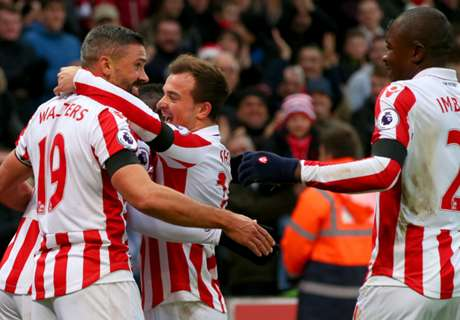 Stoke prove too strong for Burnley