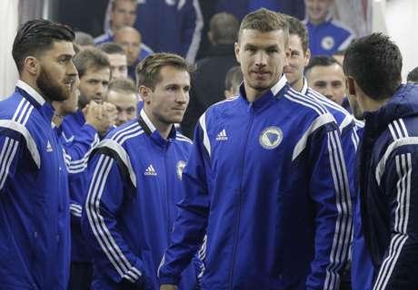 Los golazos de Dzeko y Pjanic con Bosnia
