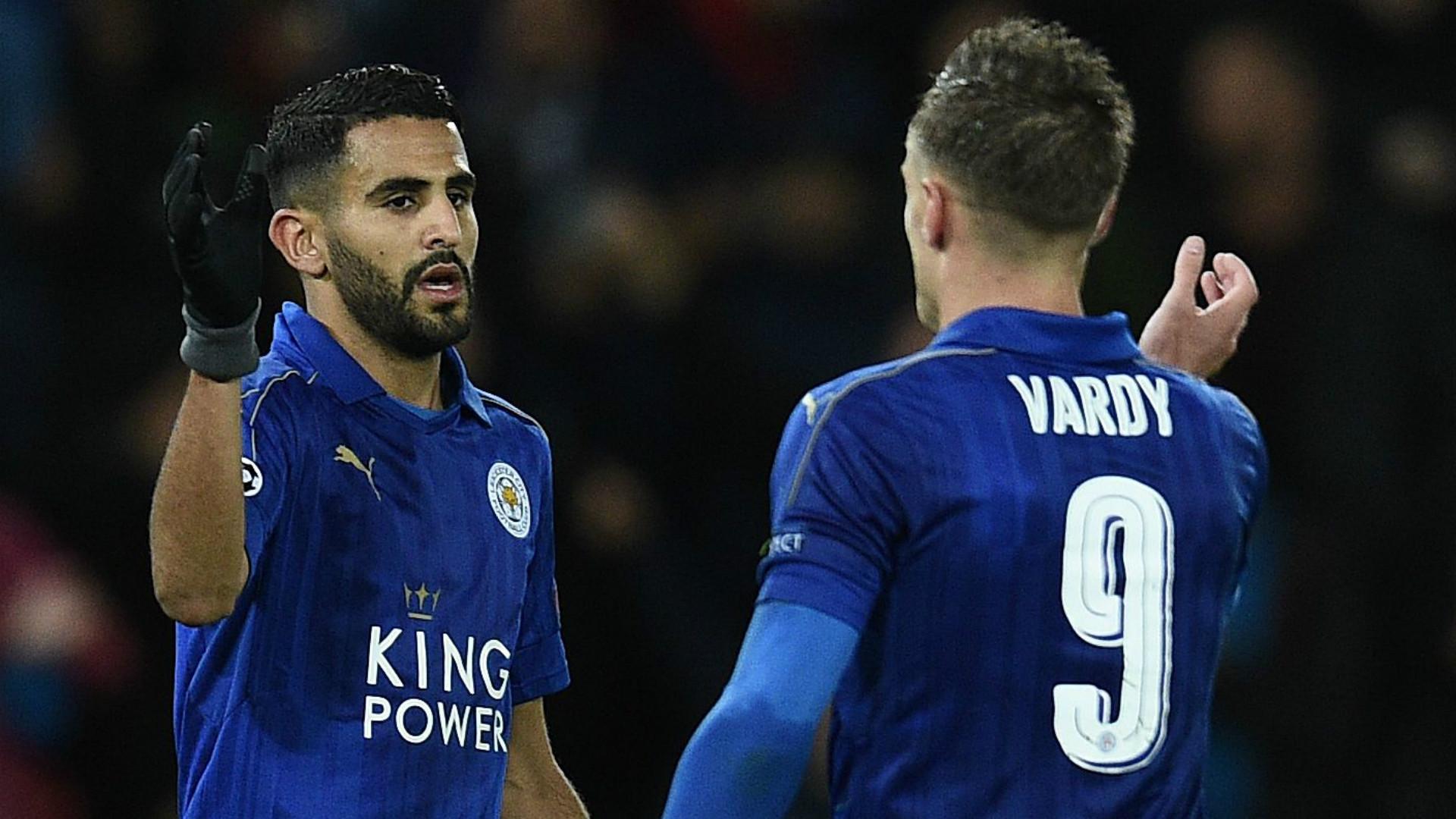 HD Riyad Mahrez Jamie Vardy Leicester City